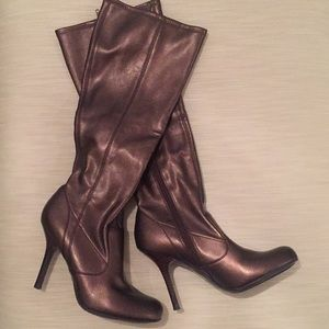 💕Gorgeous!!💕Jessica Simpson Bronze Tall Boots!!